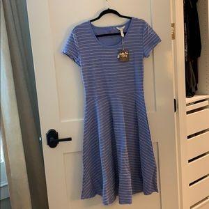 Matilda Jane blue pinstriped dress